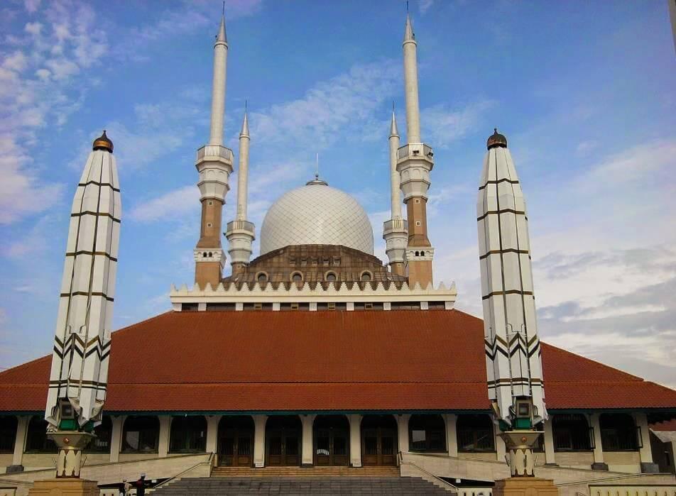 Masjid Agung Jawa Tengah Wisata Religi Kota Semarang Kauman Kab