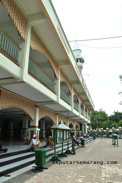 Masjid Besar Kauman Semarang Kemegahan Dunia Kab