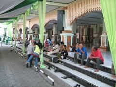 Masjid Kauman Semarang Media Dulu Komplek Alun Tempat Berkumpulnya Warga