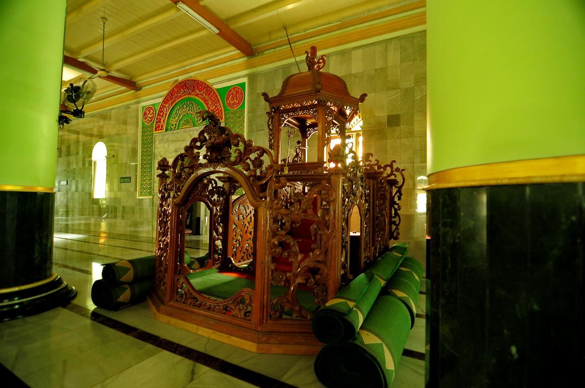 Masjid Kauman Semarang Salah Satu Tertua Kota Menjadi Saksi Kemerdekaan