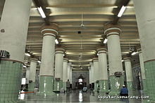 Masjid Kauman Semarang Wikipedia Bahasa Indonesia Ensiklopedia Bebas Interior Kab