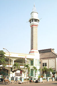 Masjid Kauman Semarang Wikipedia Bahasa Indonesia Ensiklopedia Bebas Tradisi Ramadhan