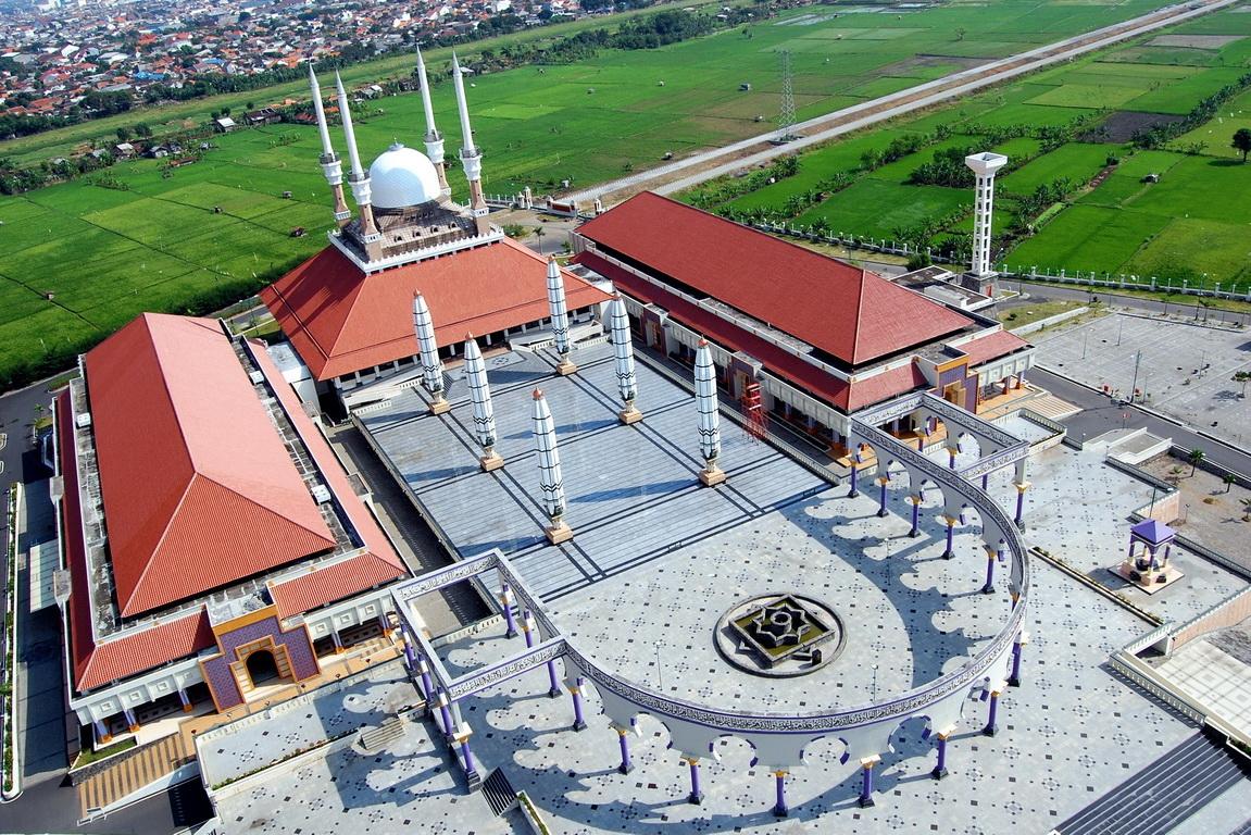 Rindu Masjid Agung Jawa Tengah Majt Kauman Semarang Kab
