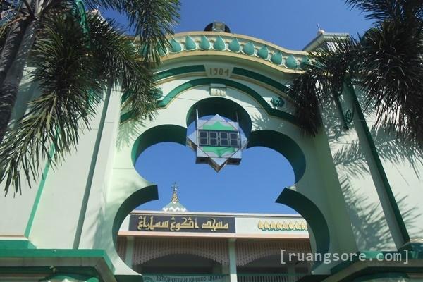 Ruang Sore Masjid Kauman Semarang Kab