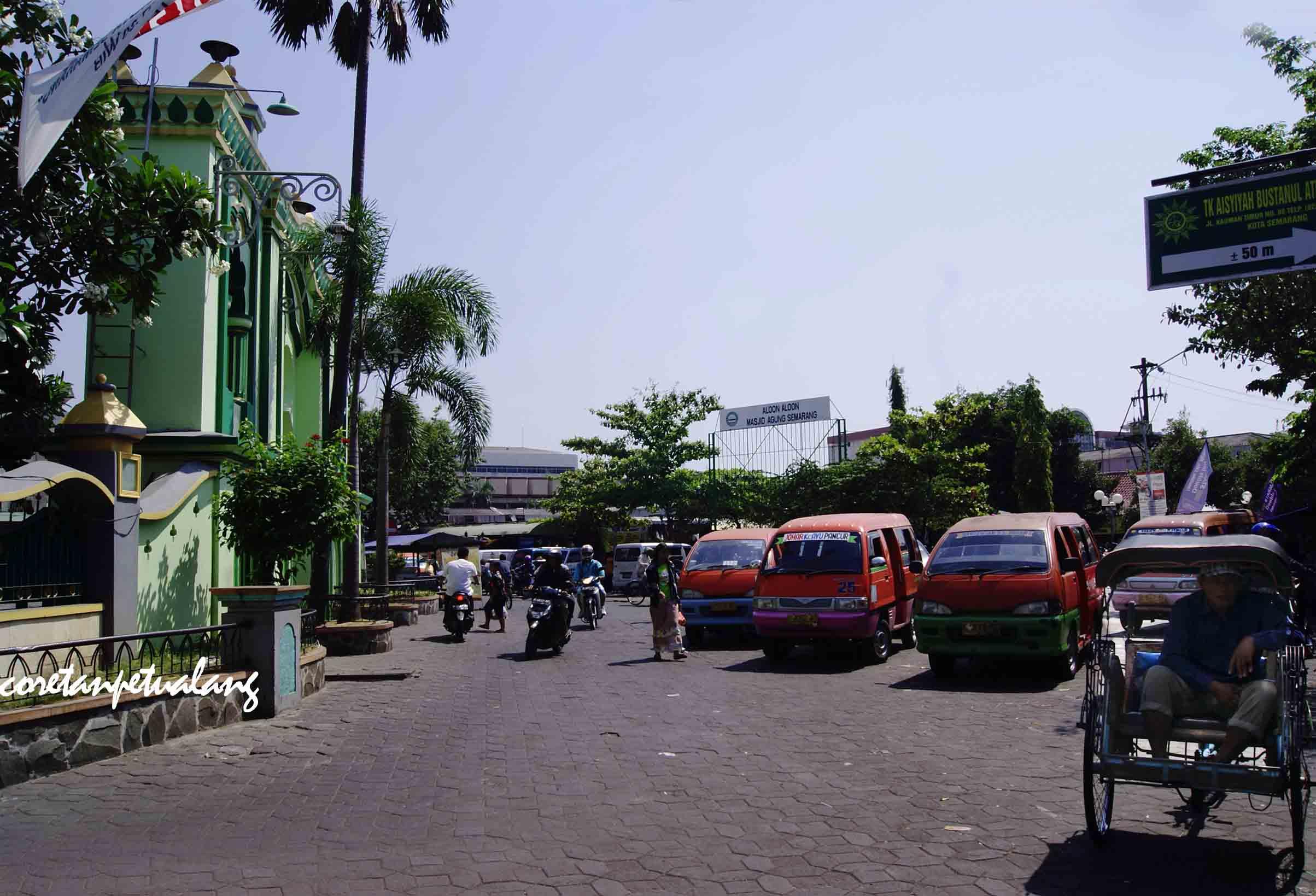 Sejarah Kota Semarang Achmad Muzakky Dityana Masjid Agung Kauman Setelah