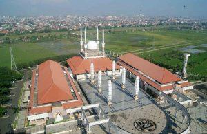 Sejarah Masjid Agung Jawa Tengah Pembangunan Majt Berawal Kembalinya Lahan