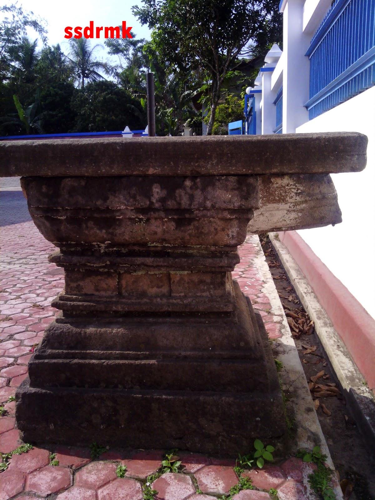 Situs Yoni Kauman Suruh Kabupaten Semarang Ditutup Semen Difungsikan Sebagai
