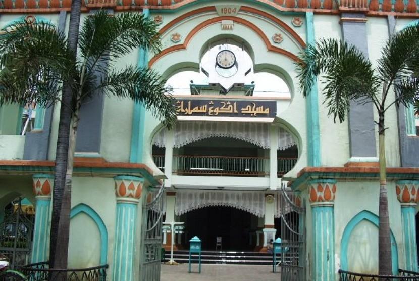 Tiga Masjid Tertua Semarang Republika Online Kauman Jawa Tengah Kab