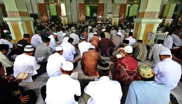 Tradisi Semaan Quran Masjid Kauman Semarang Lestari Kab
