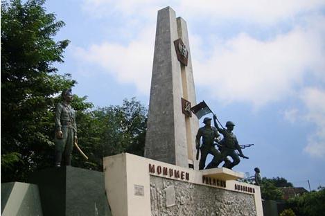 Jawa Tengah Monumen Palagan Ambarawa Sebuah Terdapat Kabupaten Semarang Simbol