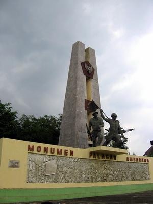 Monumen Museum Palagan Ambarawa Tanggal 20 Oktober 1945 Tentara Sekutu