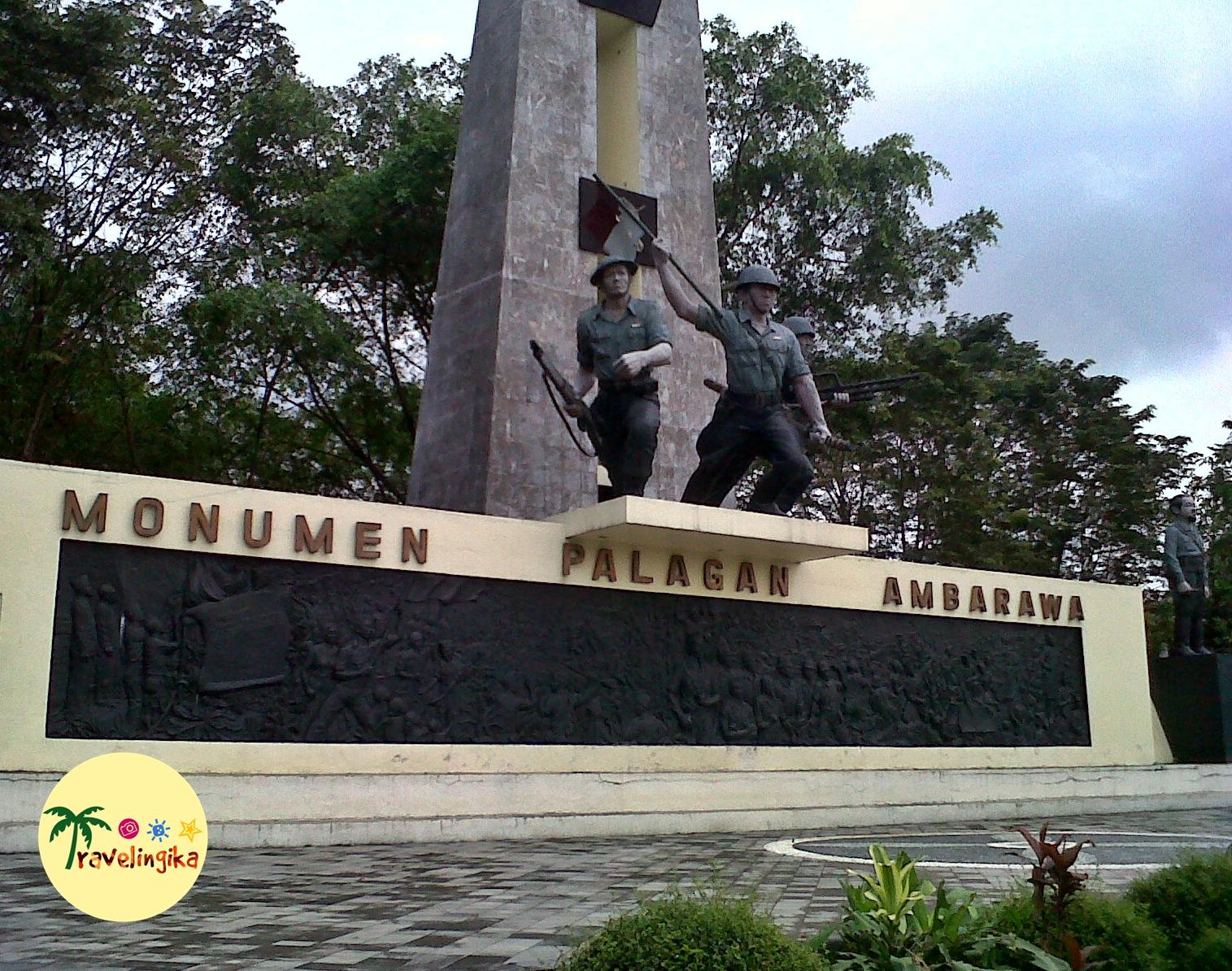 Monumen Palagan Ambarawa Flashback Perang Travelingika Terang Jarang Melakukan Family