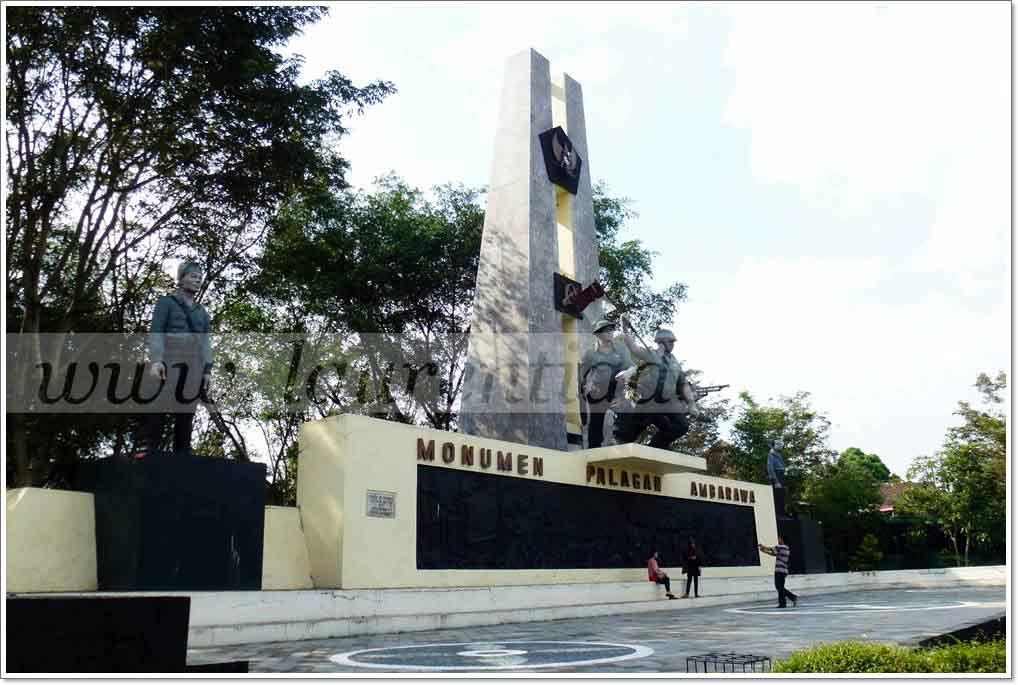 Monumen Palagan Ambarawa Semarang Memperingati Pertempuran Museum 30 Kab