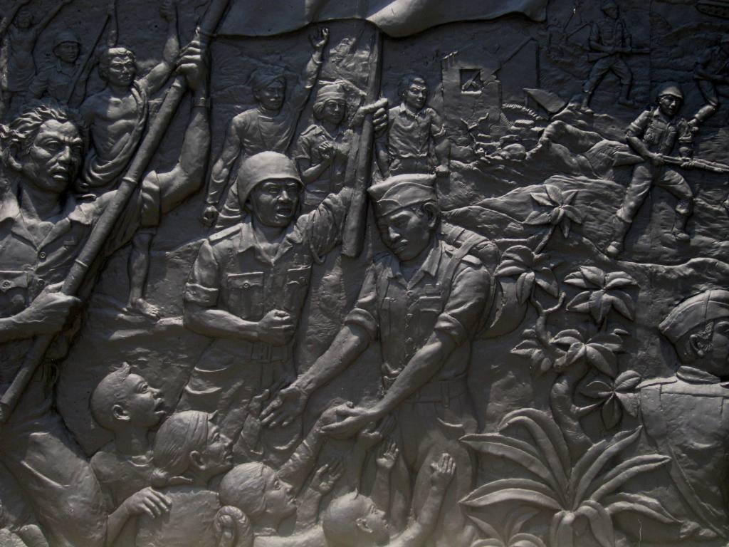 Monumen Palagan Ambarawa Simbol Perjuangan Pemuda Kota Relief Pahlawan Kab
