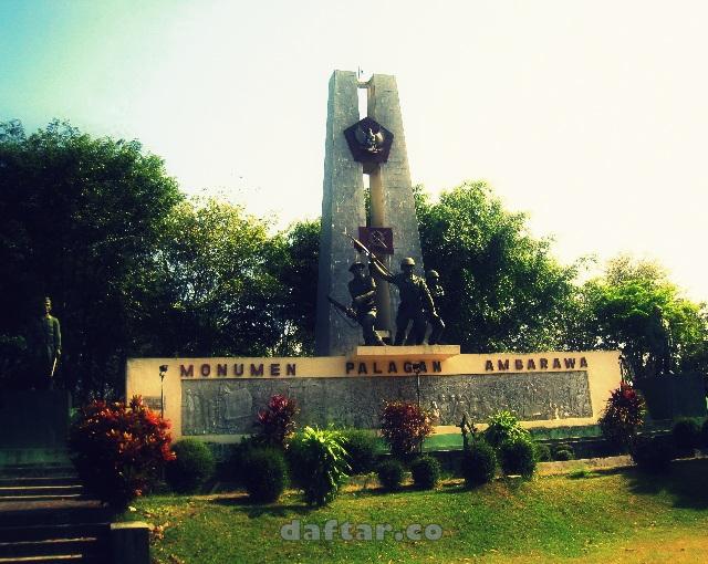 Monumen Palagan Ambarawa Wisata Sejarah Semarang Daftar Kab