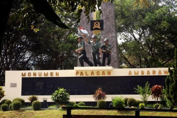 Monumen Palagan Kota Ambarawa Kabupaten Semarang Jawa Tengah Kab