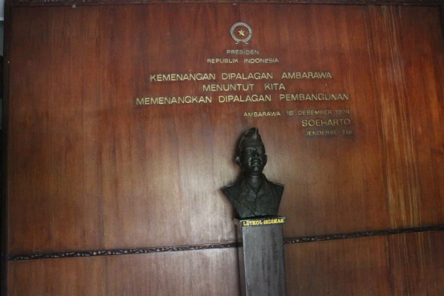 Nina Razan Kabupaten Semarang Indonesia Monumen Palagan Ambarawa Memang Tepat