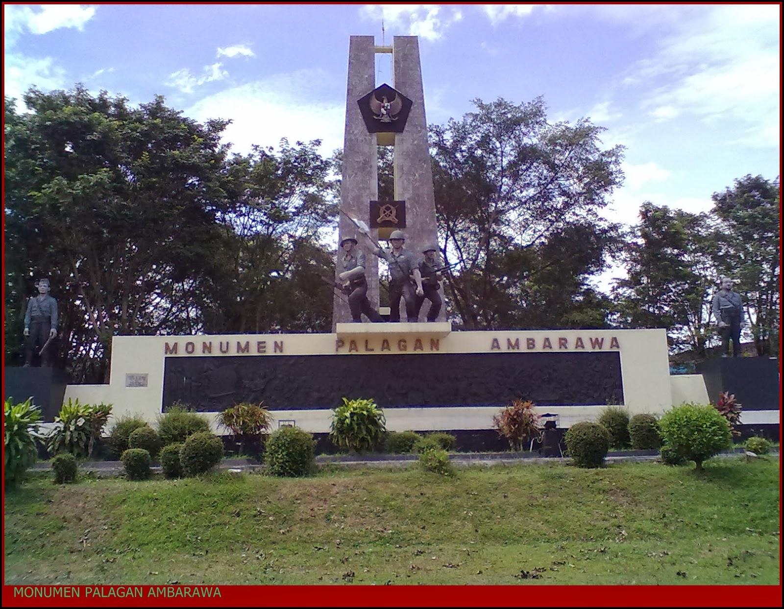 Palagan Ambarawa Pemuda Tani Monumen Kab Semarang
