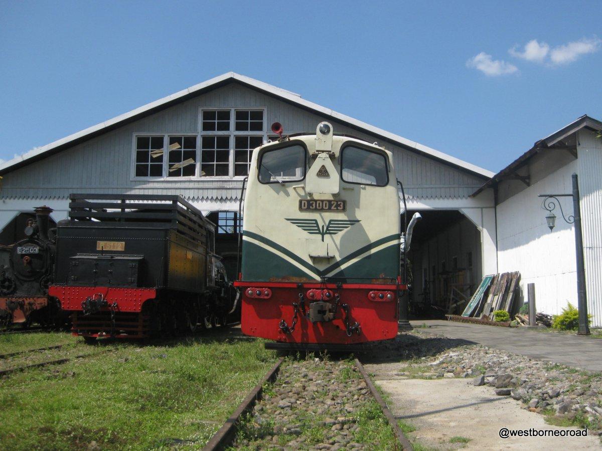 Bermain Museum Kereta Api Ambarawa Semarang West Borneo Road Sempat