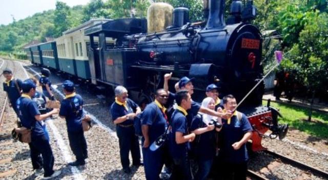 Foto Wisata Semarang Peserta Arceo Museum Kereta Api Asean Railways