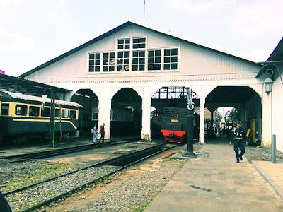 Harga Tiket Masuk Museum Kereta Api Ambarawa Ditutup Dibuka Sejarah