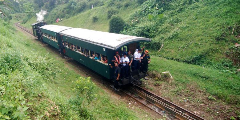 Jalur Lawas Kereta Api Uap Ambarawa Bedono Kembali Dibuka Halaman