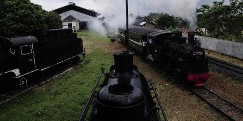 Ketika Aset Mulai Dihidupkan Kembali Kompas Rangkaian Kereta Api Uap