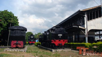 Mengintip Museum Kereta Api Ambarawa Teamtouring Memasuki Stasiun Bangunan Utama