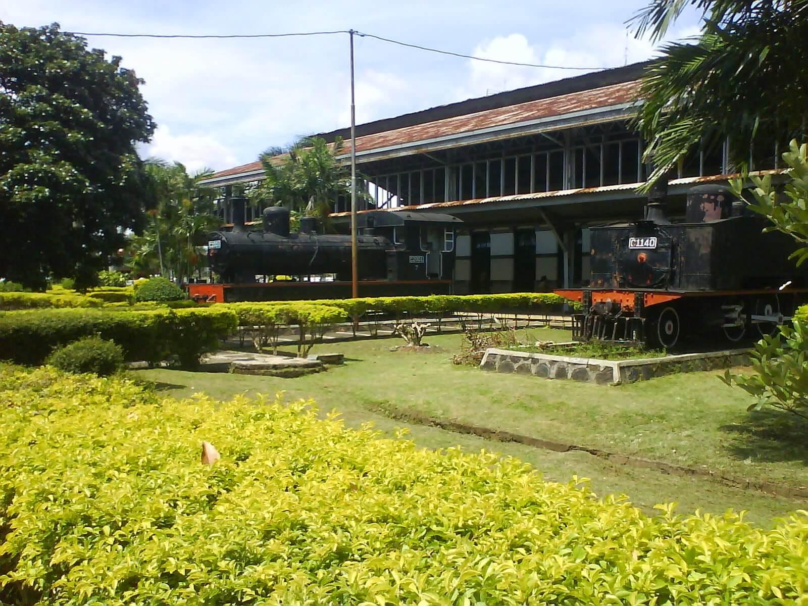 Museum Kereta Api Ambarawa Kabupaten Semarang Gambar Uap Kab