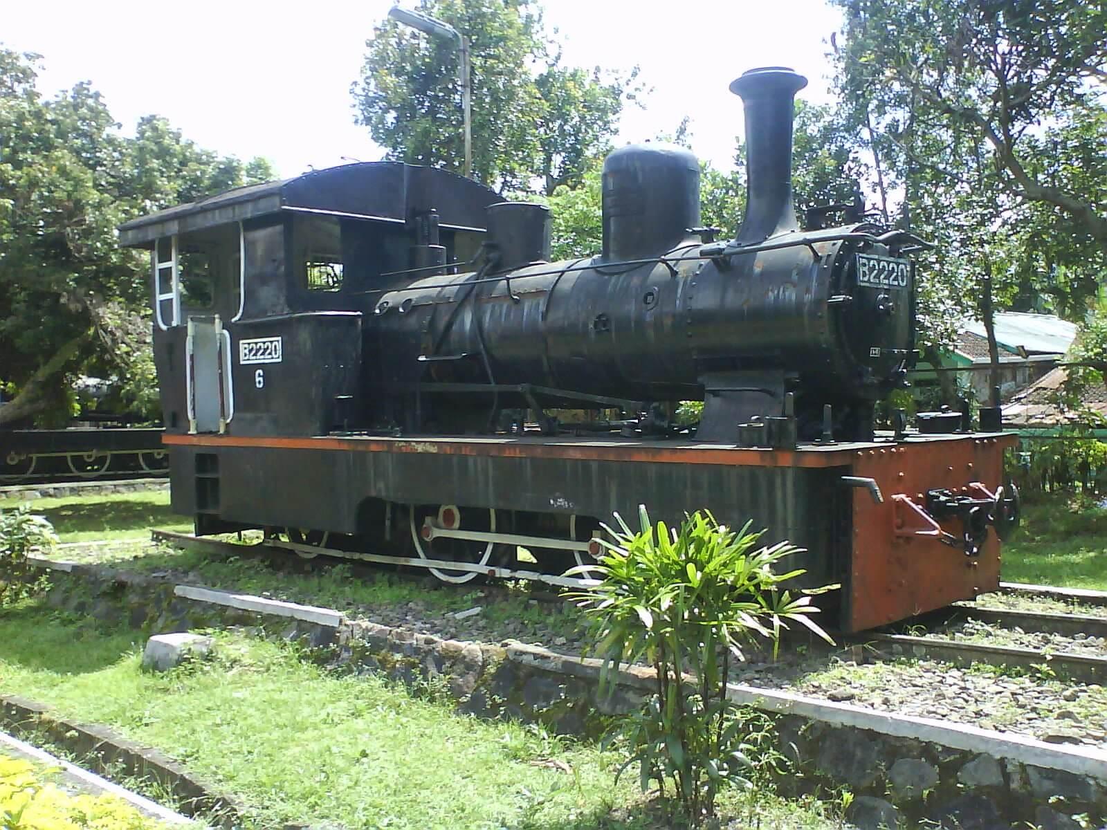 Museum Kereta Api Ambarawa Kabupaten Semarang Uap Kab