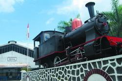 Museum Kereta Api Ambarawa Lokomotof Tua Kab Semarang