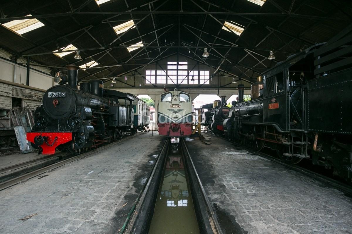 Museum Kereta Api Ambarawa Perjalanan Meretas Bersama Kab Semarang