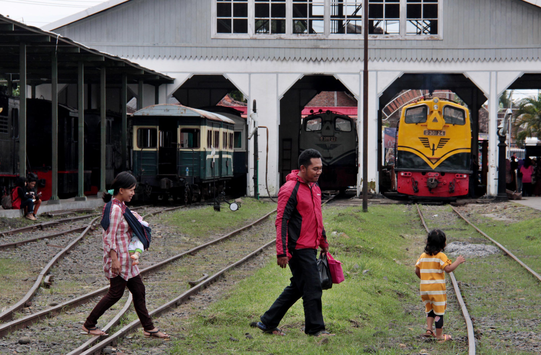 Museum Kereta Api Ambarawa Semarang Berita Daerah Kab