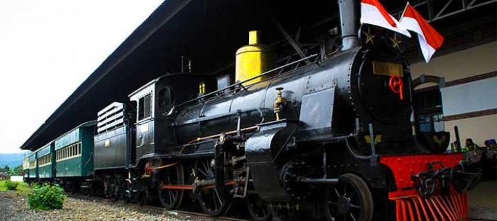Obyek Wisata Museum Kereta Api Ambarawa Jawa Tengah Awalnya Sebuah