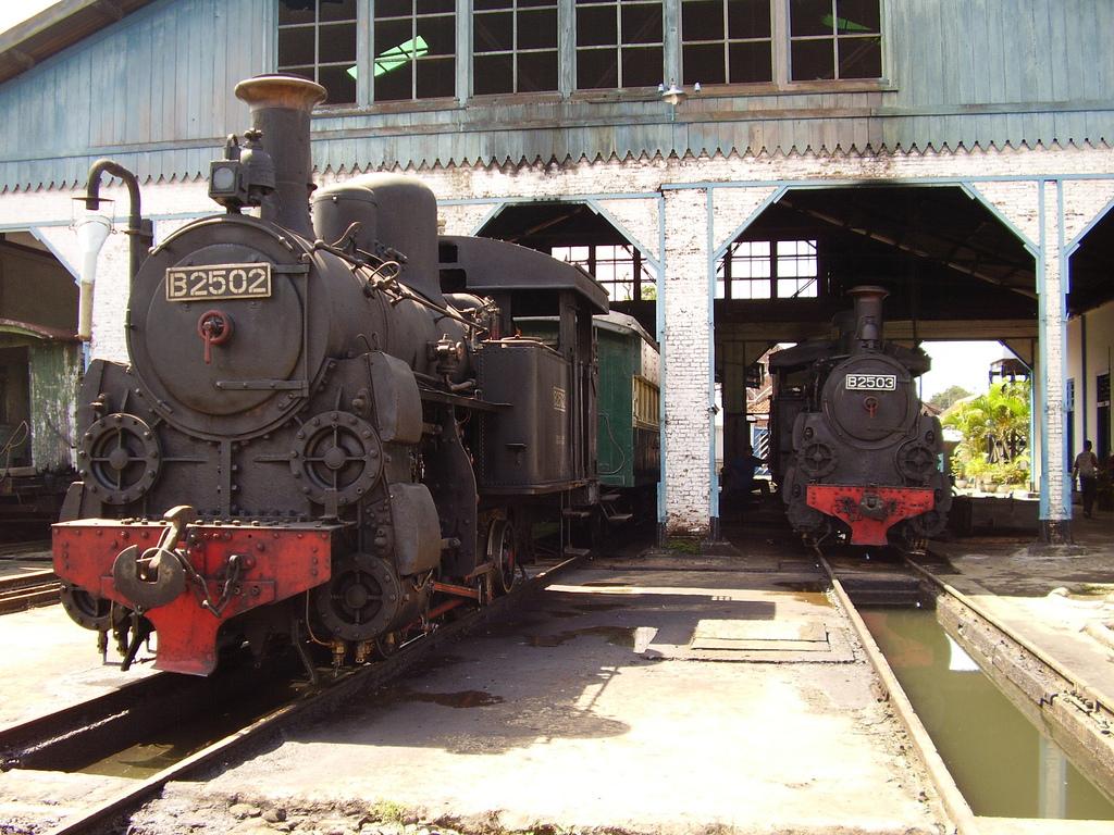 Obyek Wisata Museum Kereta Api Ambarawa Jawa Tengah Ka Mengoleksi
