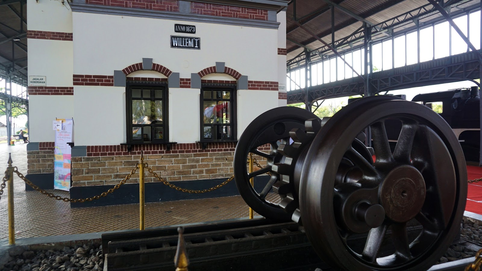 Rizkichuk Museum Kereta Api Ambarawa Destinasi Wajib Dolan Diorama Roda
