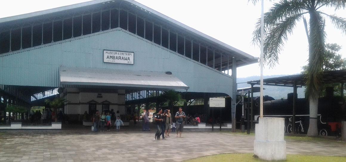 Semarang Lewat Kabupaten Yuk Mampir Museum Kereta Ambarawa Api Kab