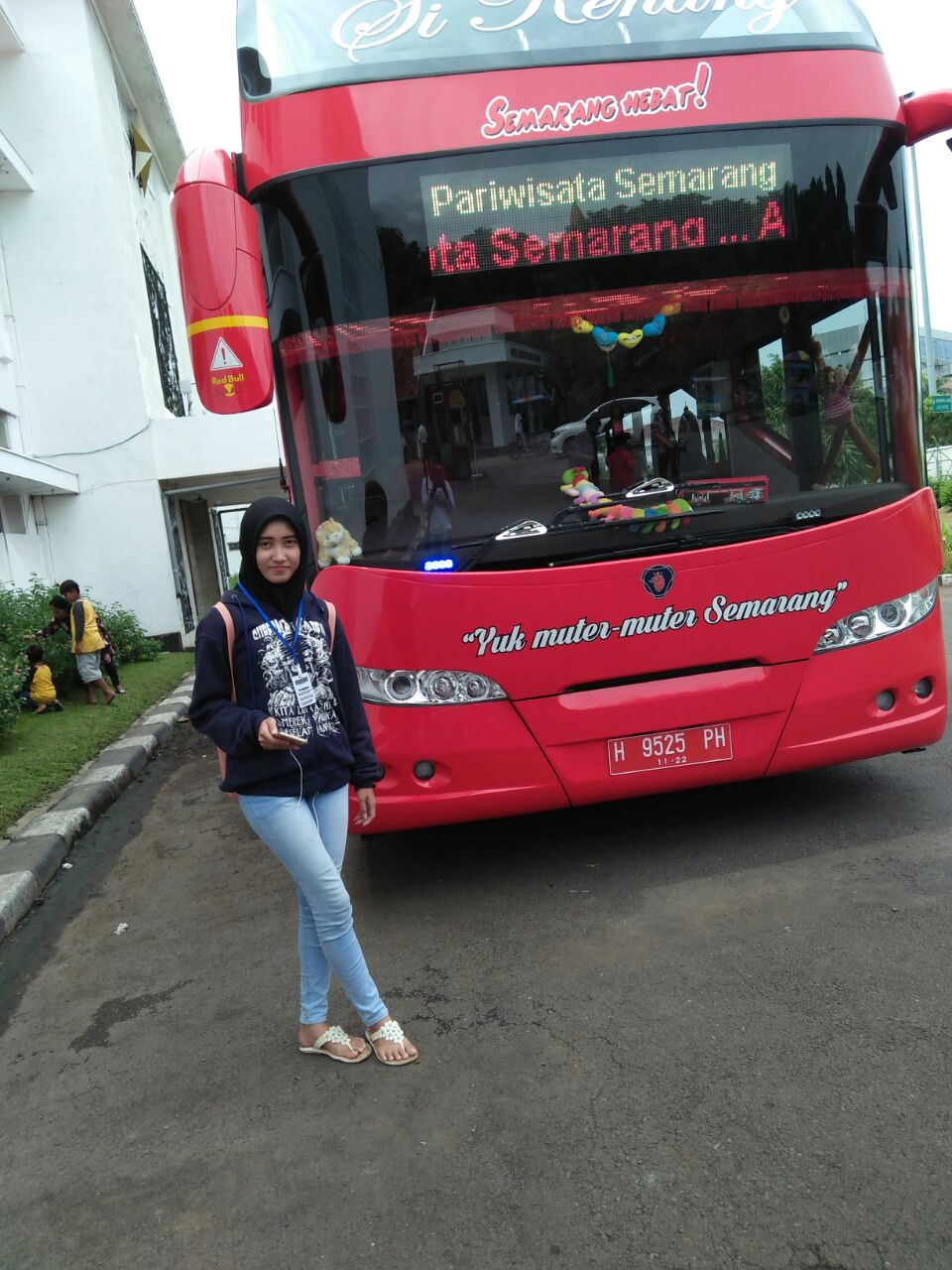 Bus Tingkat Semarang Wisata Memulai Tur Naik Tinggal Menyambangi Museum