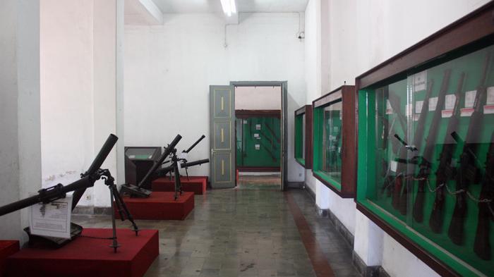 Melihat Jejak Perjuangan Indonesia Museum Mandala Bhakti Semarang Koleksi Senjata