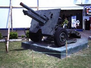 Museum Mandala Bhakti Semarang Jawa Tengah Senjata Diyakini Digunakan Pertempuran