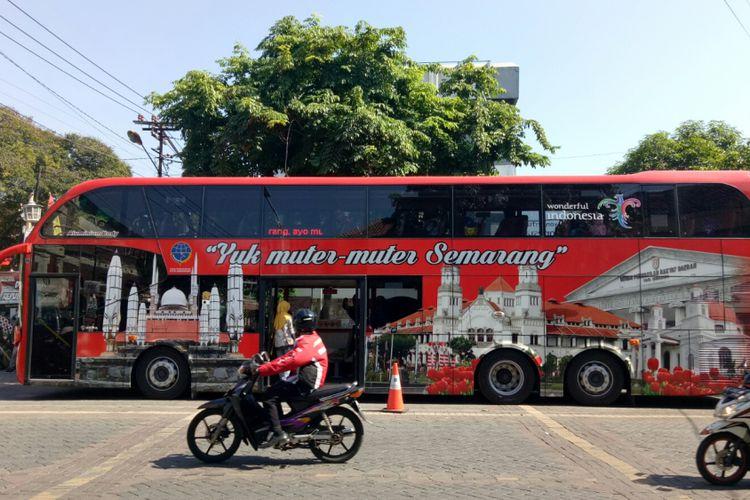 Rute Bus Tingkat Keliling Semarang Bisa Naik Gratis Kompas Wisata