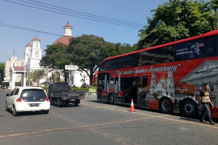 Tarik Wisatawan Season Pemprov Luncurkan Jateng Wow Bus Tingkat Wisata
