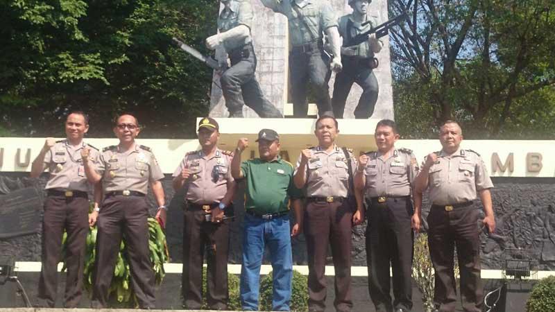 Harapan Kapusjarah Polri Kunjungi Museum Palagan Ambarawa Tribrata News Jawa