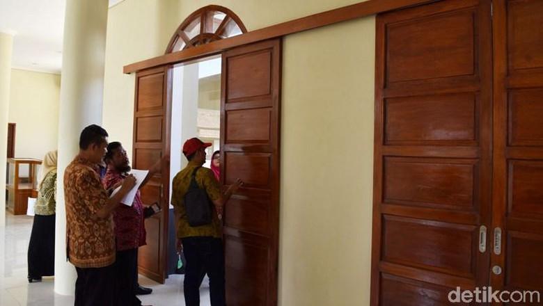 Kayu Museum Pandanaran Semarang Bawah Standar Konstruksi Polri Kab