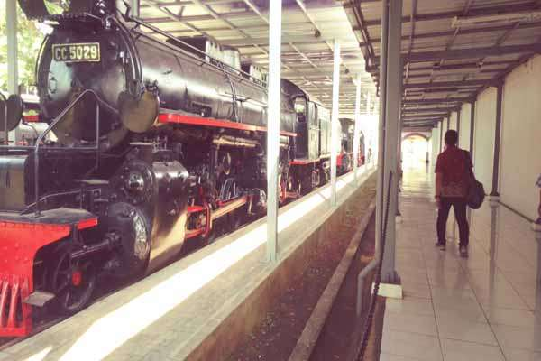 Menengok Koleksi Lokomotif Antik Museum Kereta Api Ambarawa Polri Kab