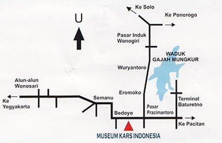 Museum Kars Indonesia Persatuan Perbedaan Denah Polri Kab Semarang