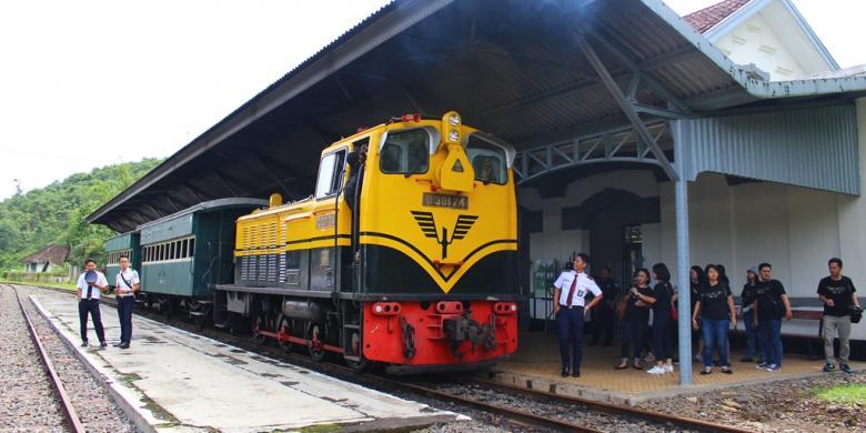 Naik Kereta Museum Ambarawa Caranya Kompas Sesampainya Stasiun Tuntang Wisatawan