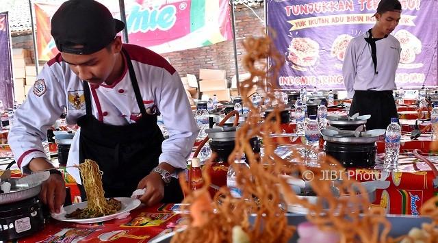 Foto Rekor Muri Pecah Smkn 1 Bawen Feature Harian Jogja
