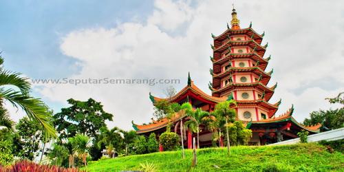 Wisata Semarang 25 Tempat Sebaiknya Pagoda Buddhagaya Museum Rekor Dunia