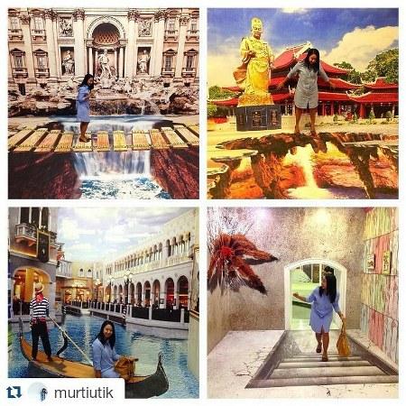Berfoto 3d City Trick Art Museum Kota Semarang Ekspresikan Dirimu
